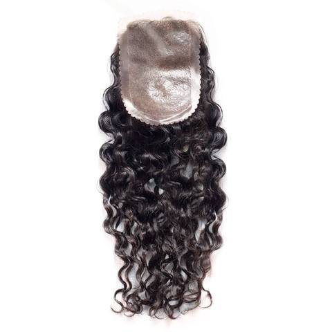Curly Skin Base Closure