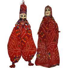 Rajasthani Decorative Puppet
