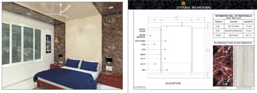 Decorative PVC Marble Sheet