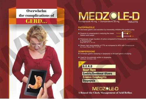 Aceclofenac 200 mg SR + Rabeprazole 20 mg Capsule