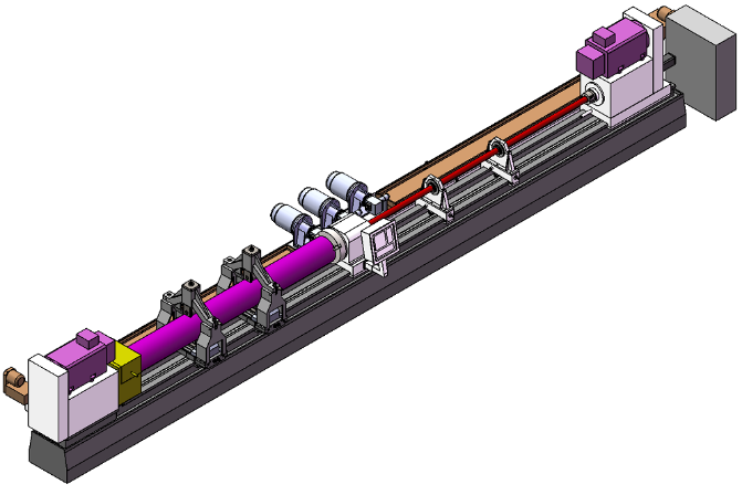 Solid Bar Drill Machinery