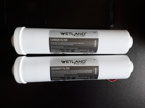 Test Carbon Inline Filter