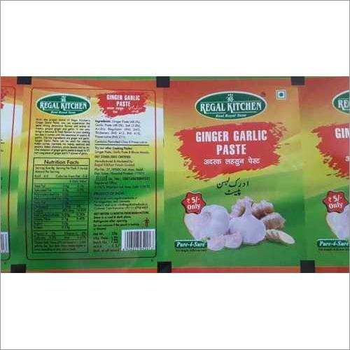 Ginger Garlic Packaging