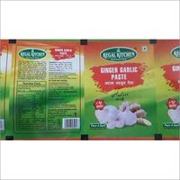 Ginger Garlic Paste Packaging