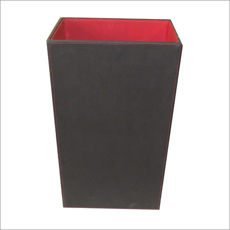 Leather Dust Bin