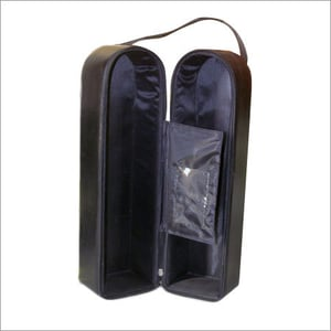 Leather Wine Bottle Bags