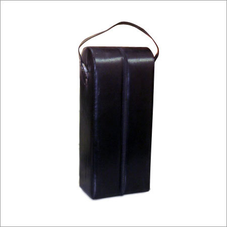 Leather Water Bottle Bags
