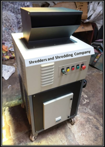 Heavy Duty Paper Shredder Machine