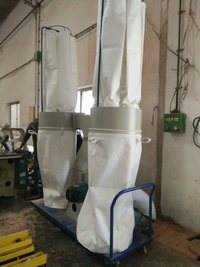 Double Bag Capacity Portable Dust Collector