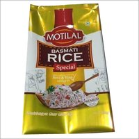 1 Kg Window Metallic Rice Pouch