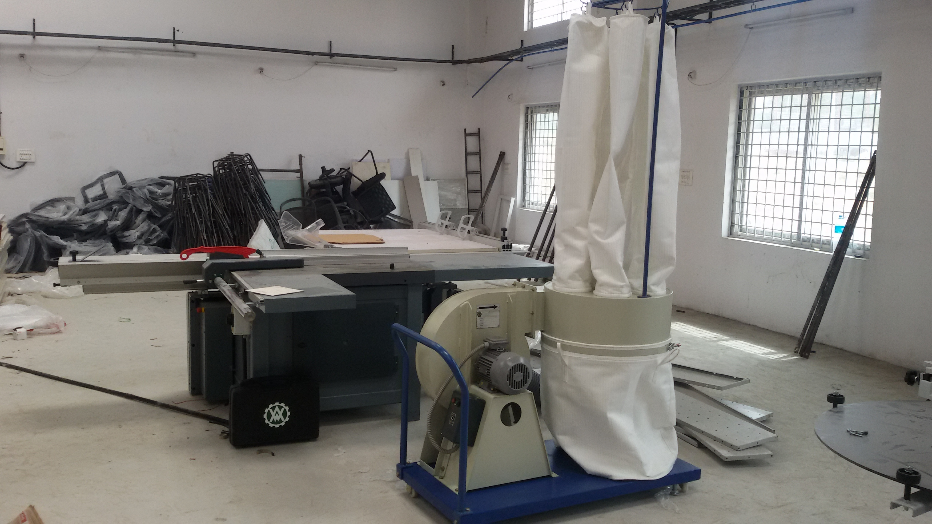 Single Collection Bag Portable Dust Collector