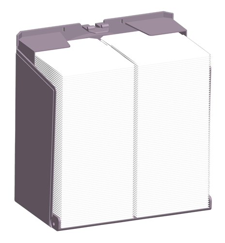 Mini N Fold Tissue Dispensers