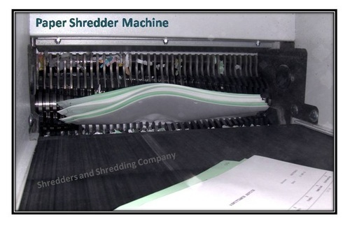 Paper Shredder Machine On Rent In Mumbai
