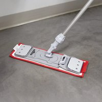 Colour Coded Microfiber Damp  Mop Set