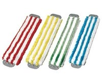 Colour Coded Microfiber Wet Mop Set
