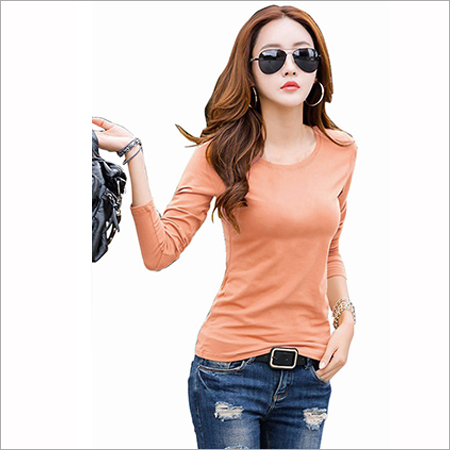 Trendy Peach T-shirt