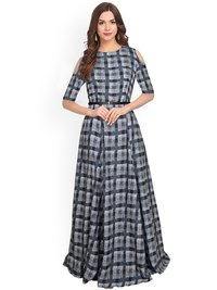 Designer Western Ladies Gown