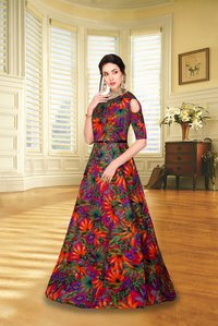 Fashionable Designer Gown