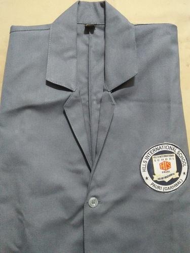 Grey Color Lab Coat