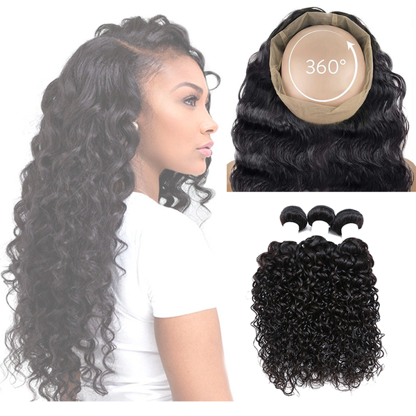 Curly 360 Lace Frontal