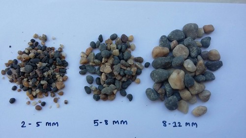 Borewell pebbles stone Indian exporter