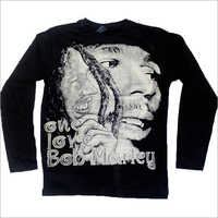 Mens Printed Full Sleeve T Shirts