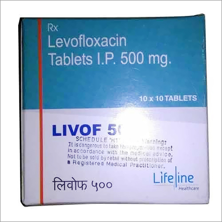 Levofloxacin Tablet IP 500mg