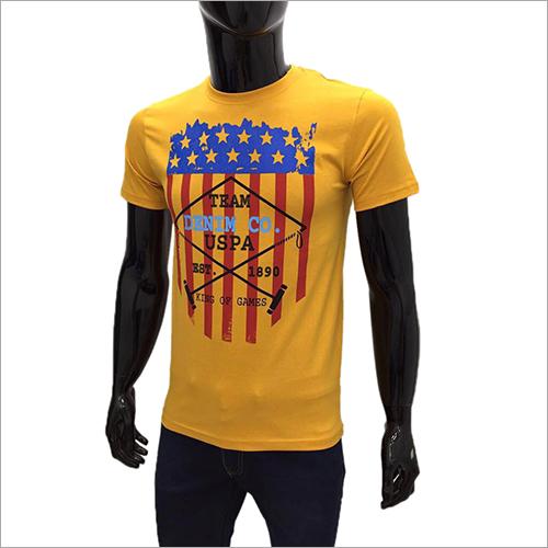 Mens Half Sleeve Body Fit T Shirt