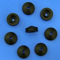Black Syringe Rubber Gaskets