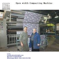 Open Width Compactor Machine