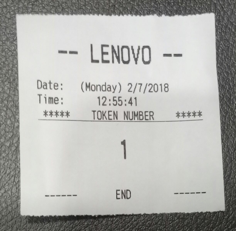 One Token Dispenser 4 User