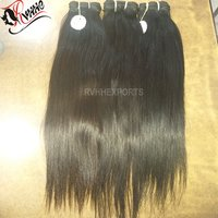 Silky Straight Wave Style and Remy Hair Grade Indian bulk hair vendor