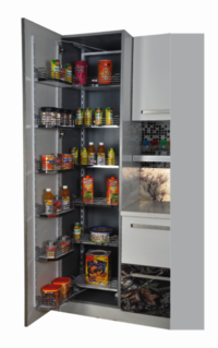 WOODEN PANTRY