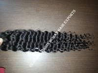 French Curl Style And Remy Hair Grade Human Hair Extensions For Black Women