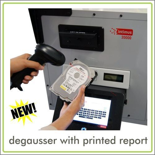 Data Degaussers  / Hard Drive Degaussers
