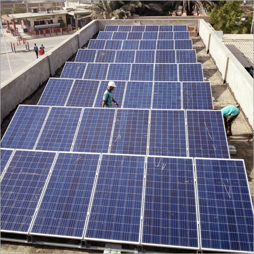 Commercial Solar Rooftop Panel