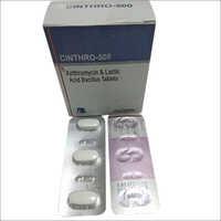Cinthro-500 Azithromycin & Lactic Acid Bacillus Tablets
