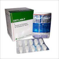 Deflam-P Diclofenac Potassium & Paracetamol Tablets