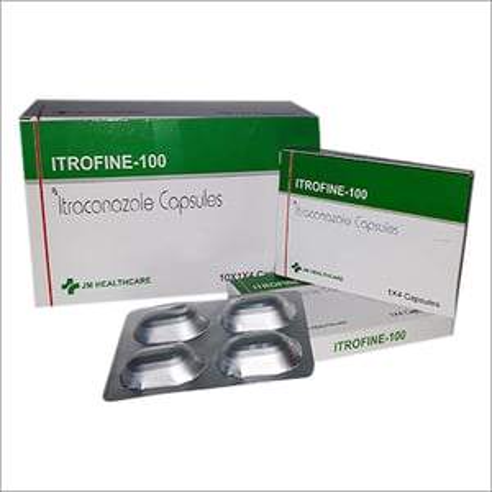 Itrofine-100 Itraconazole Capsules