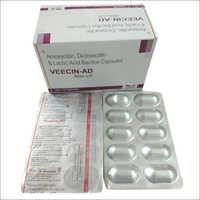 Veecin-AD Amoxicillin Dicloxacillin Lactic Acid Bacillus Capsules