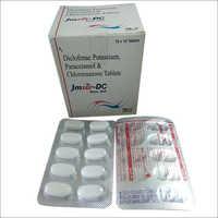 Jmser DC Diclofenac Potassium Paracetamol Chlorzoxazone Tablets