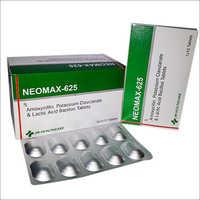 Neomax-625 Amoxicillin Potassium Clavulanate Tablets