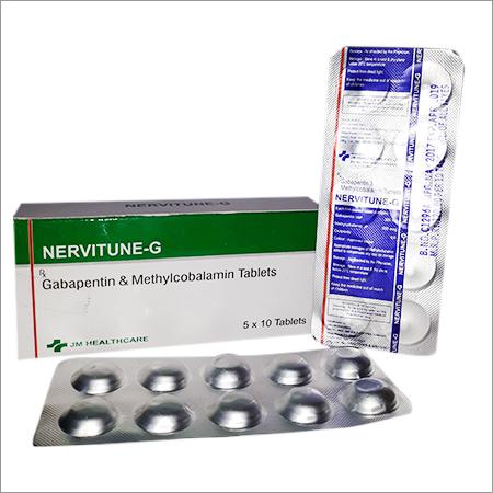 Nervitune-G Gabapentin & Methylcobalamin Tablet