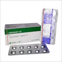Univast-10 Atorvastatin Tablets IP