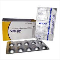 Vee-Ap Aceclofenac & Paracetamol Tablets