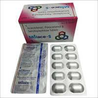 Molace S Aceclofenac Paracetamol Serratiopeptidase Tablets