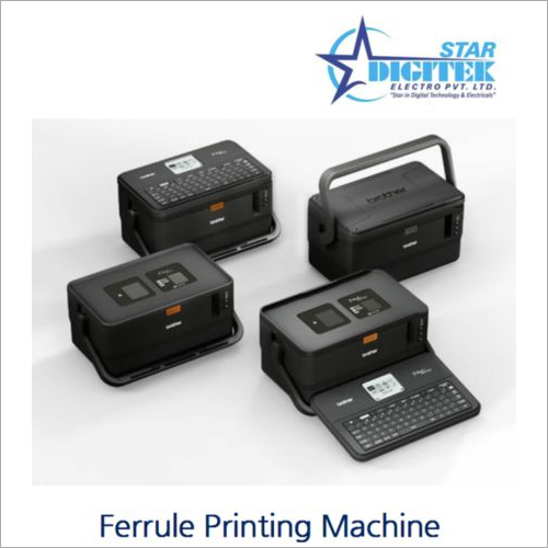 Ferrule Printing Machine
