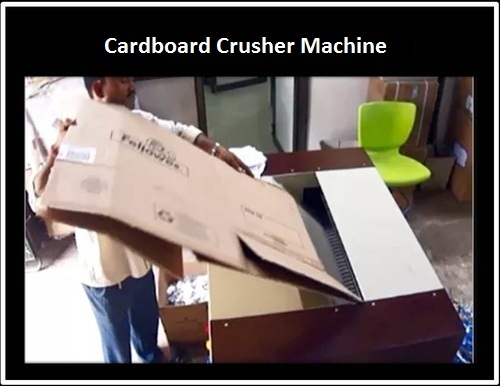Cardboard Crusher Machine
