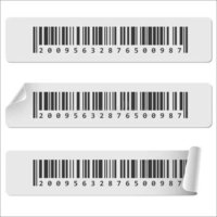 Garment Barcode Sticker