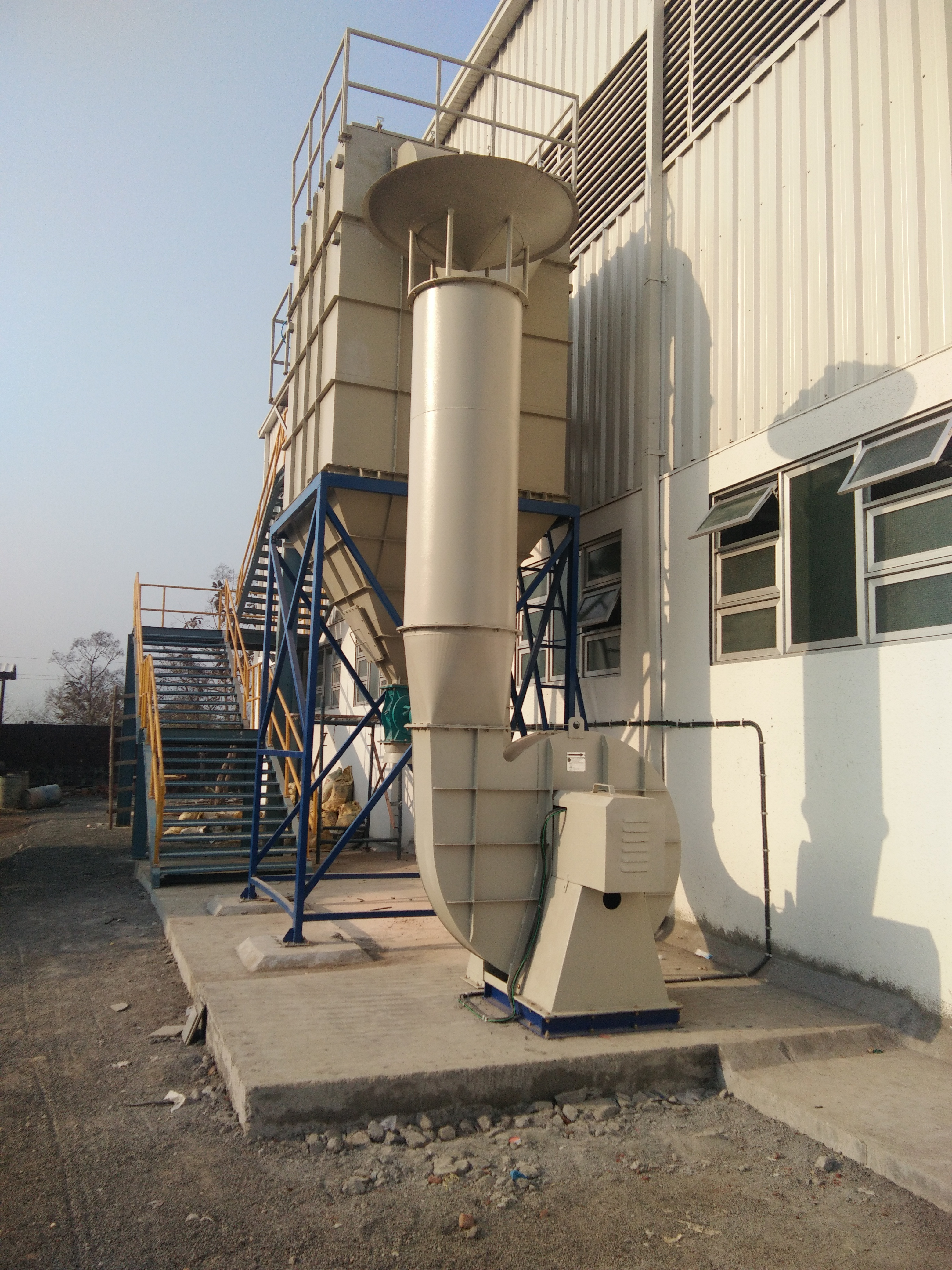 Centralised Pulse Jet Dust Extraction System